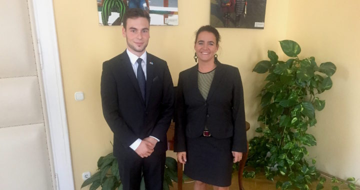 Meeting with Katalin Novák, MInister of State for Family and Youth Affairs